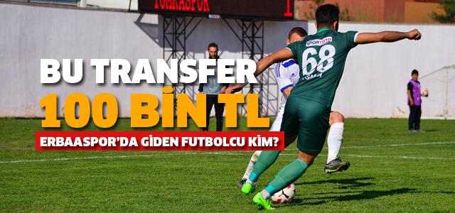 Erbaaspor'dan Diyarbekirspor'a 100 Bin TL'lik transfer
