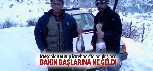 Facebook'taki Tavşan Avı Paylaşımından 500 Lira Ceza