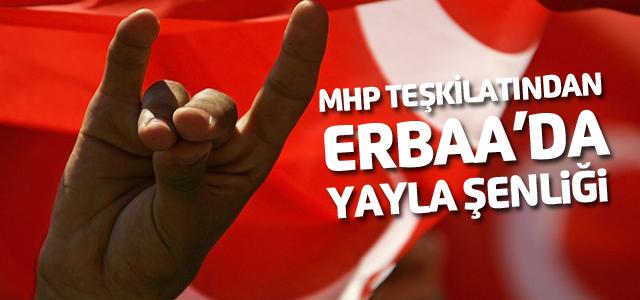 MHP Erbaa teşkilatından yayla şenliği