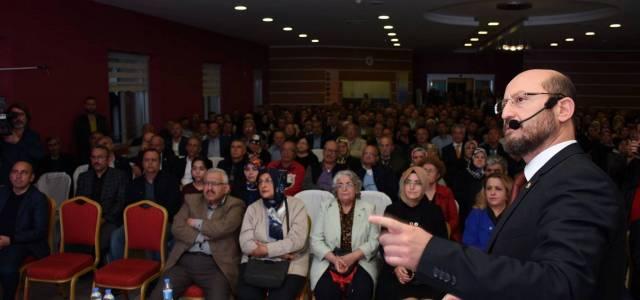 Niksar Belediye Başkanı Özcan 3 yıllık çalışmalarını anlattı