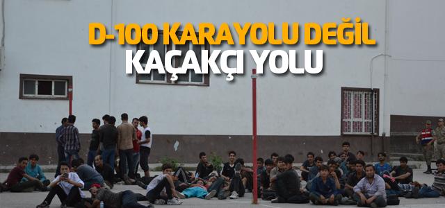 Niksar'da 82 kaçak göçmen yakalandı