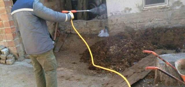 Niksar'da haşerelere karşı mücadele çalışması başlatıldı
