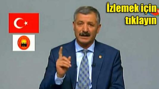 Öldükten 2 saat sonra TRT'de partisine oy istedi