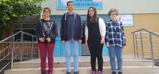 Reşadiye'den 4 öğrenci TEOG'da tam puan aldı