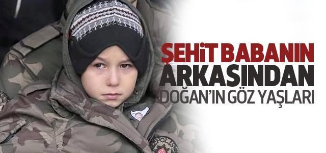 Şehit Özel Harekatçının Cenazesinde Küçük Oğlu Gözyaşlarına Boğuldu