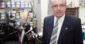 Tokat'ın en eski matbaacısı 43 yıllık makinesine gözü gibi bakıyor