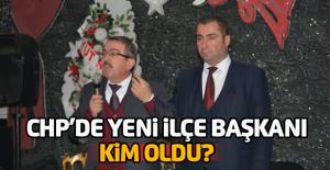 CHP Erbaa ilçe kongresinde ilçe başkanı...