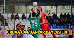 Erbaaspor - Düzcespor: 0-0