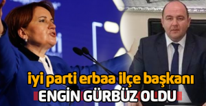 İYİ Parti Erbaa İlçe Başkanı...