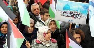 Tokat'ta Stk'lardan Kudüs Protestosu