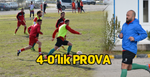 Erbaaspor Osmancıkspor'u 4-0 mağlup etti