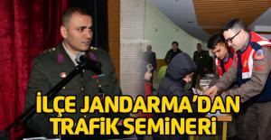 İlçe Jandarma'dan trafik semineri