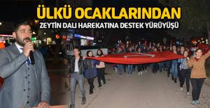 Erbaa Ülkü Ocaklarından Zetin Dalı Yürüyüşü