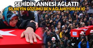 Afrin şehidini Niksar'da son yolculuğuna 5 bin kişi uğurladı