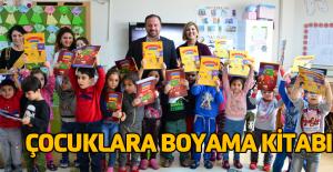 Erbaa Belediyesinden çocuklara boyama kitabı