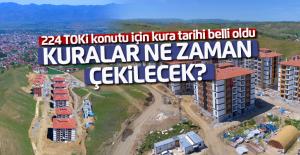 Erbaa'da 224 TOKİ konutu için kura 7 Haziran'da çekilecek