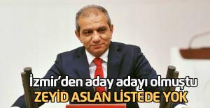 İzmir#039;den aday adayı olan Zeyid...