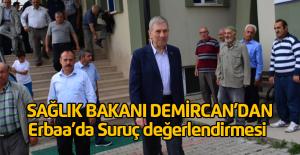 Bakan Demircan: Suruç#039;ta Yaralanan...