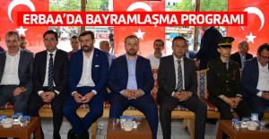 Erbaa'da bayramlaşma programı