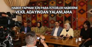 Özlem Zengin'den para istediler iddiasıyla ilgili açıklama
