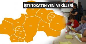 Tokat'ta AK Parti 3, MHP 1 ve CHP 1 Vekil Çıkardı