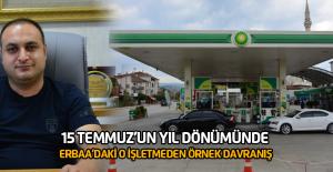 Erbaa'daki o akaryakıt istasyonundan örnek davranış