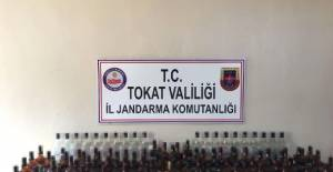 Erbaa'da sahte içki operasyonu