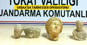 Erbaa#039;da Tarihi Eser Operasyonu