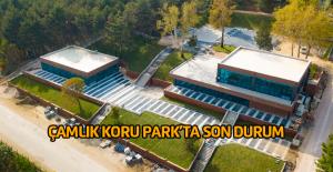 Çamlık Koru Park#039;ın sona hali...