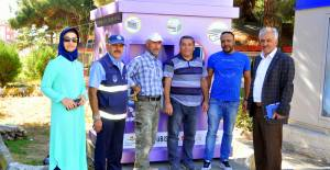Zile'de elektronik atık toplama noktası oluşturuldu
