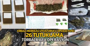 Erbaa'da Torbacılara Drone destekli operasyon