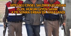 Cinsel Saldırı Suçundan Aranan Sanık, Jandarma Tarafından Yakalandı