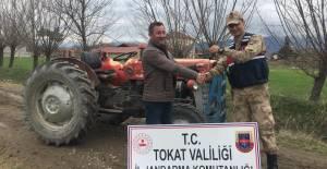 Tokat'ta çalınan traktör Erbaa'da bulundu