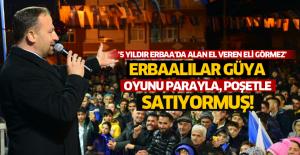 Karagöl'ün vatandaşın poşet ve para karşılığı oyunu sattığı iddiasına Tokat gibi yanıt