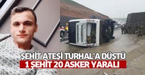 Şırnak'tan Acı Haber! Askeri Araç Devrildi: 1 Şehit, 20 Yaralı Var