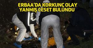 Erbaa'da Çay Kenarında Yanmış İnsan Kemikleri Bulundu