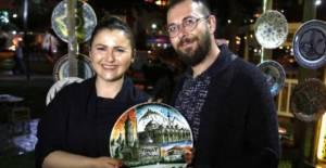 Nişanlı çift, hobilerini mesleğe dönüştürdü