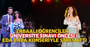 Erbaalı öğrenciler sınav stresini...