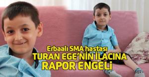 SMA hastası Turan Ege#039;nin ilacına...