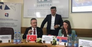 Erbaa ile Subotica ticaret odaları arasında kardeş oda protokolü