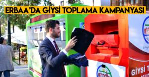 Erbaa Belediyesi'nden giysi toplama kampanyası