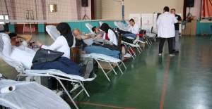 Erbaa'da eğitim çalışanlarından kan bağışı kampanyası