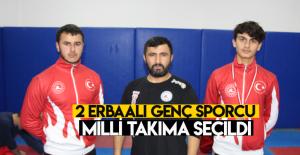 Erbaalı 2 sporcu Milli Takıma seçildi