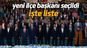 AK Parti Erbaa 6ıncı ilçe kongresi...
