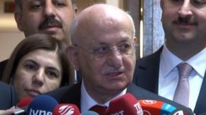 AK Parti'nin Meclis Başkanı adayı başvurusunu yaptı