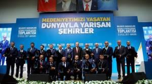 Cumhurbaşkanı Erdoğan'dan Zile Belediyesi'ne birincilik ödülü
