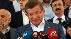 Eski Başbakan Ahmet Davutoğlu Tokat'ta