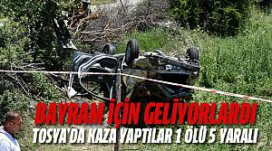 İstanbul'dan Erbaa'ya geliyordu: 1 ölü, 5 yaralı
