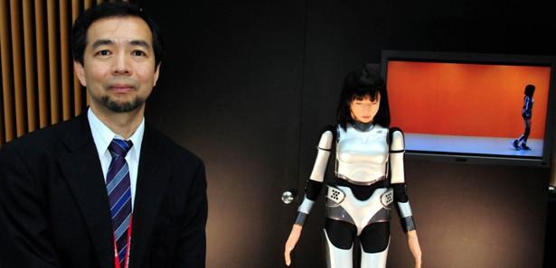 Japonların manken robotu Miim