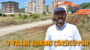 Niksar'da 3 Yıllık Yol Sorunu Çözülüyor